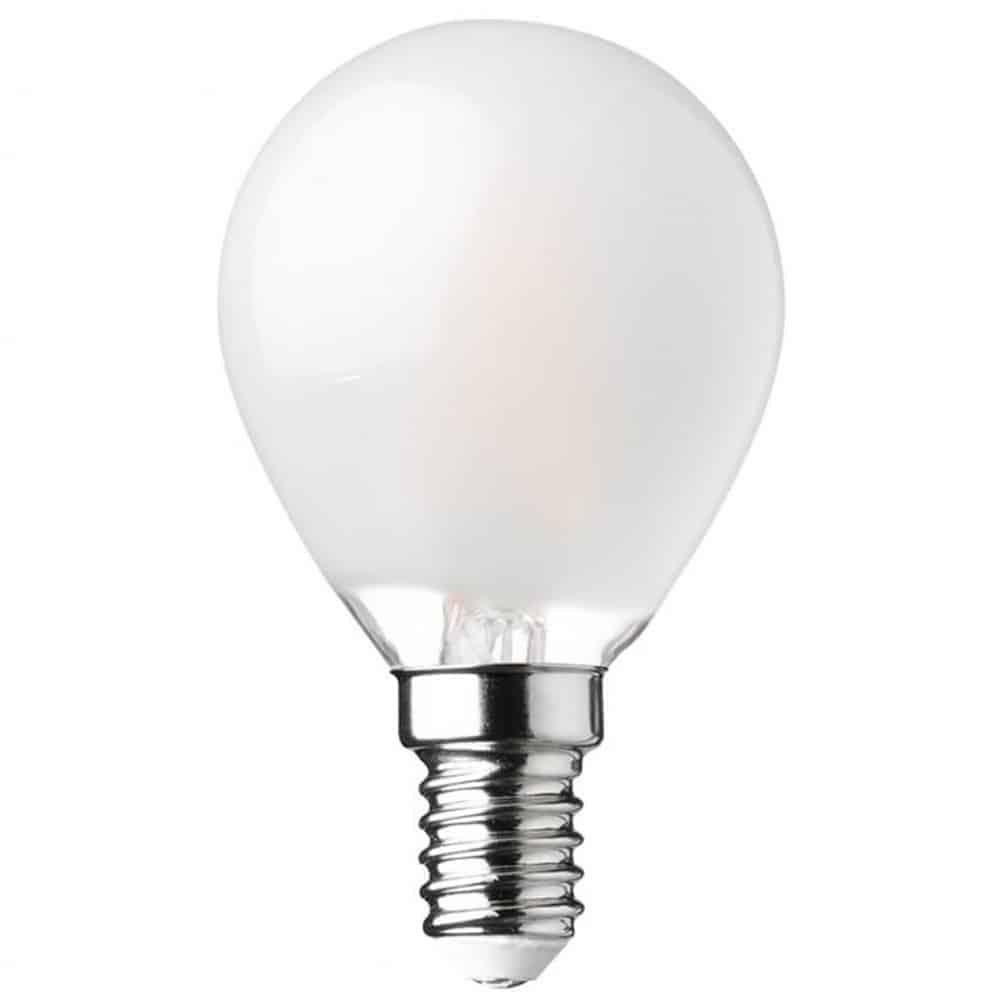 Bec LED Lumen E14, sferic, 6W, 5800K