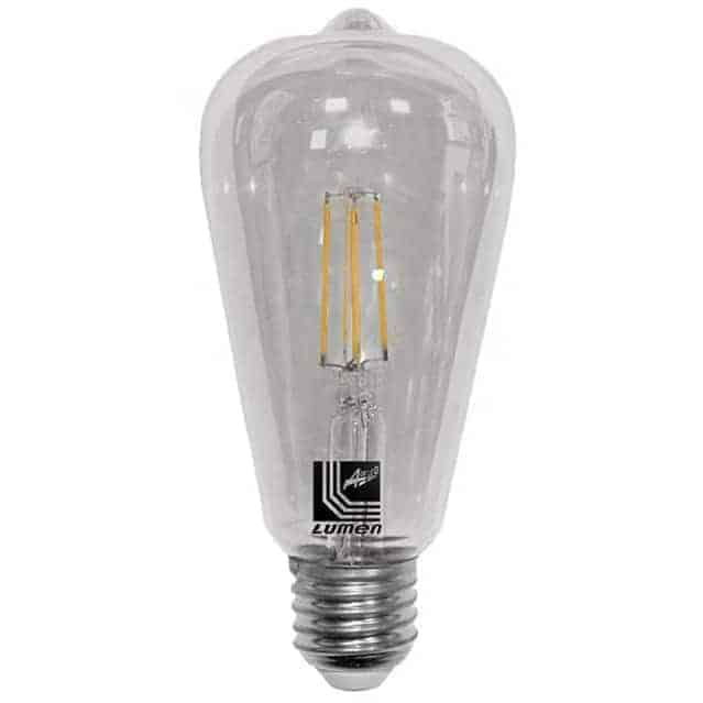 Bec LED Lumen E27, avocado, 6W, 2200K