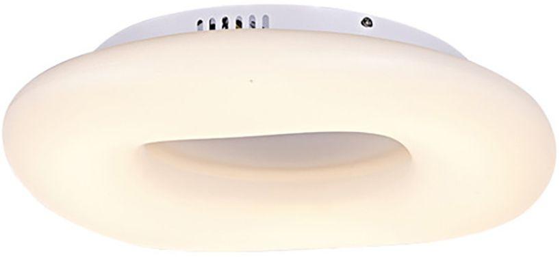 Plafoniera LED AZzardo Donut cct, 76W, alb, dimabil
