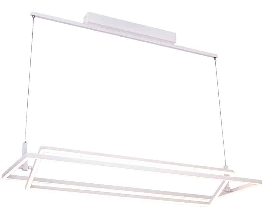 Pendul LED AZzardo Viena, 70W, alb, dimabil