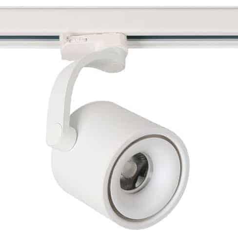 Proiector pe sina LED AZzardo Bross Arm Track, 12W, negru
