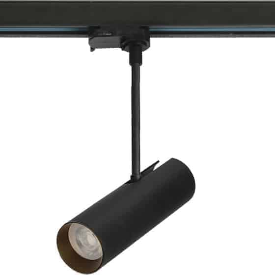 Proiector pe sina AZzardo Lens, 1xGU10, negru