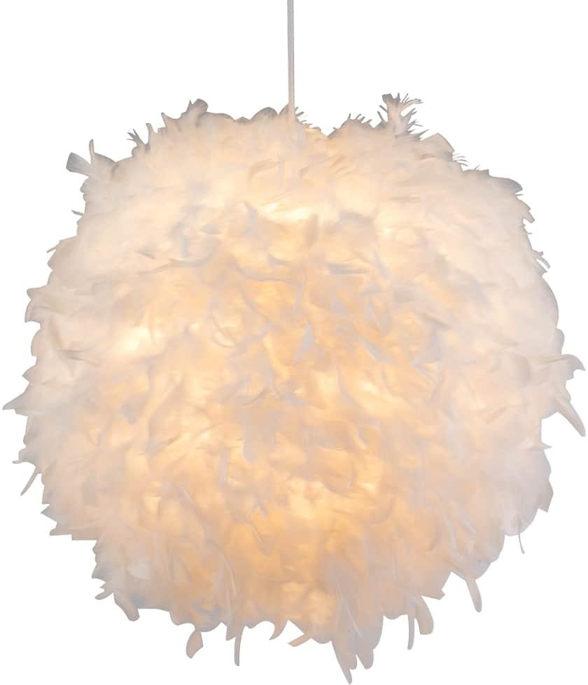 Pendul Globo Lighting Katunga, 1xE27, alb