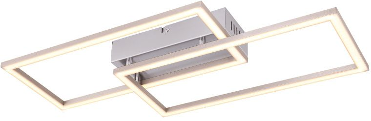 Plafoniera LED Globo Lighting Munni, 40W, alb-nichel