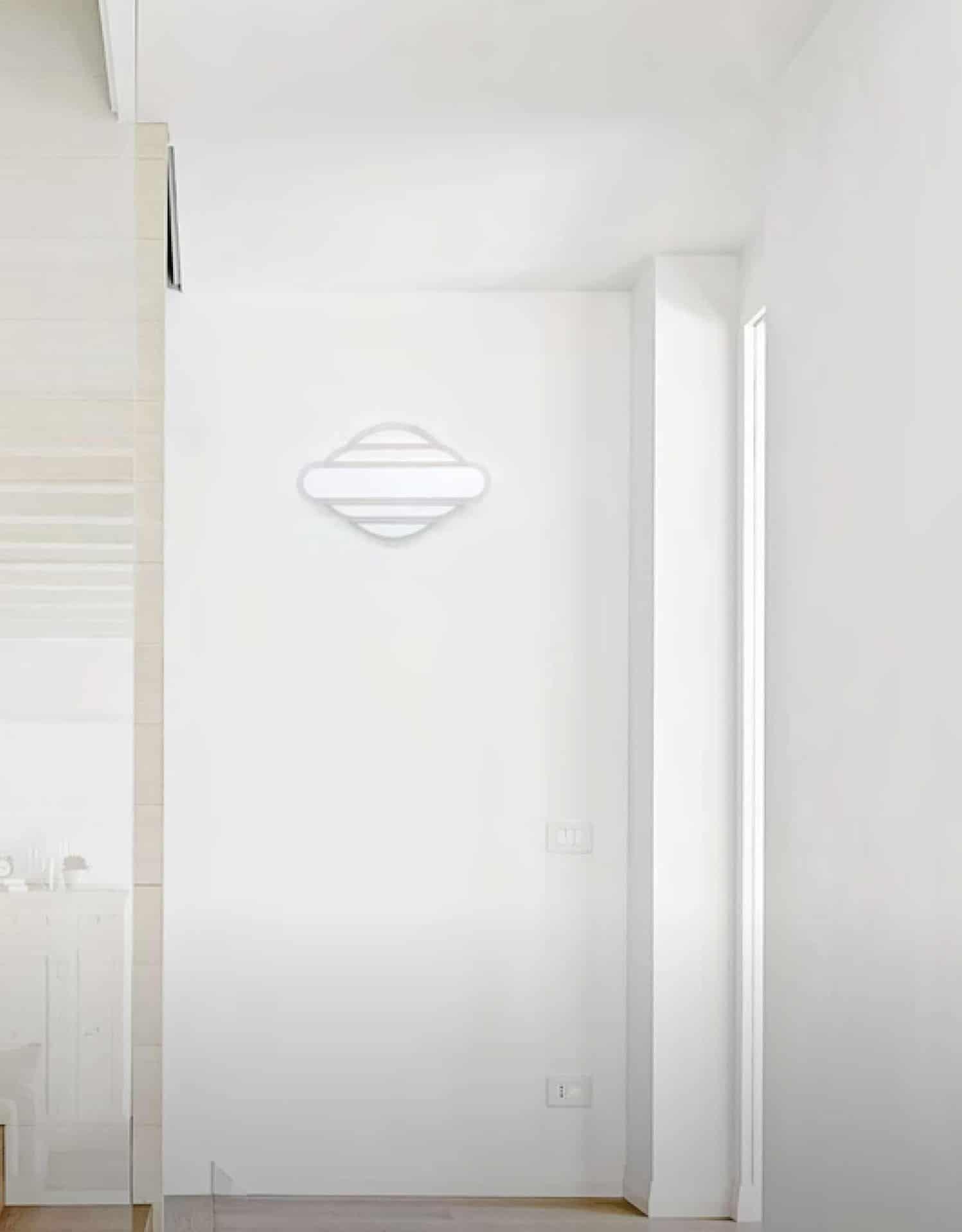 Aplica LED Kelektron Retro, 30W, alb, dimabil