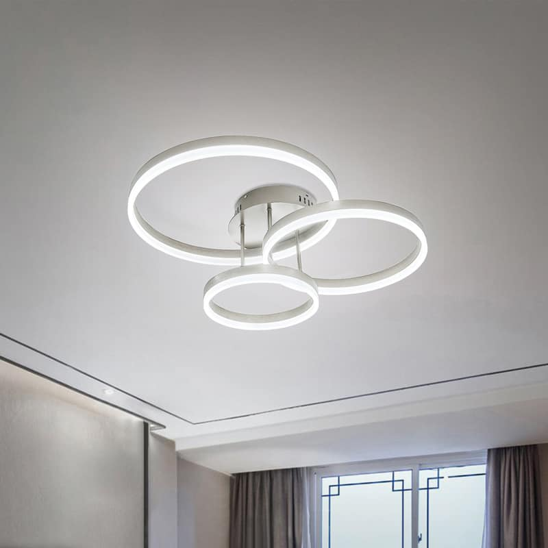 Plafoniera LED Kelektron Hoop, 80W, alb