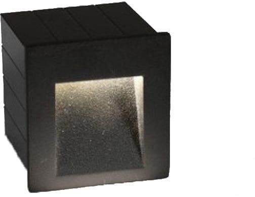 Spot fix LED incastrat Nowodvorski Step, 3W, grafit, patrat, IP65