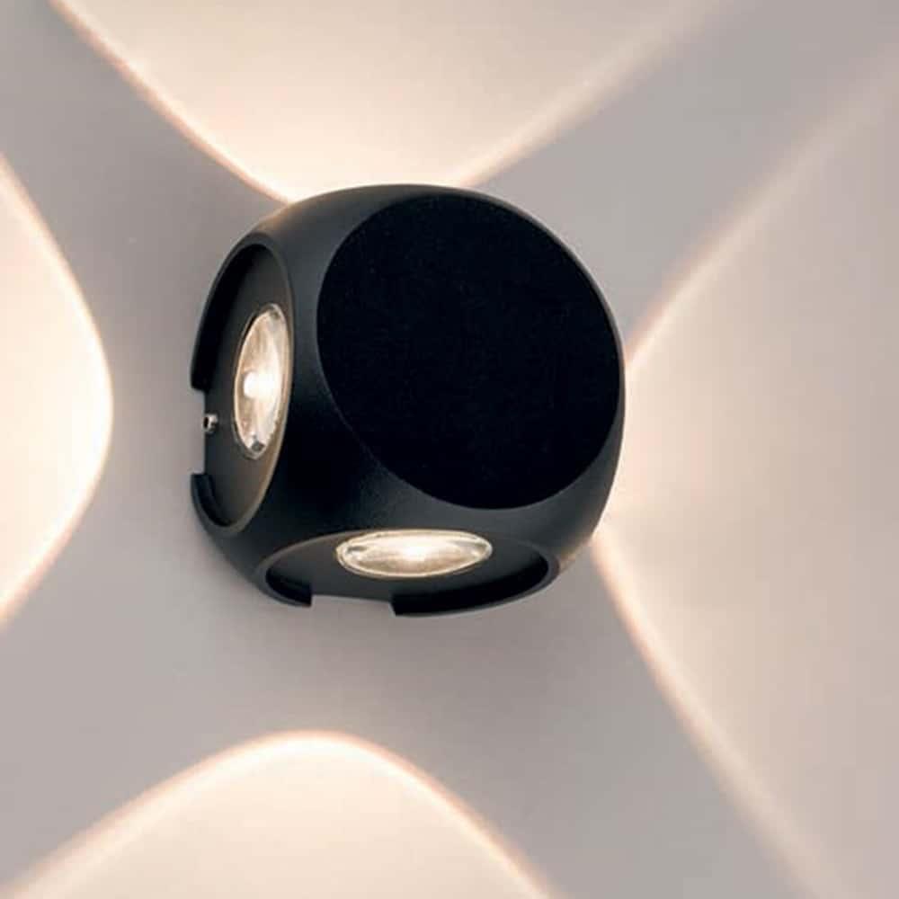 Aplica LED Nowodvorski Patras Led, 4W, negru