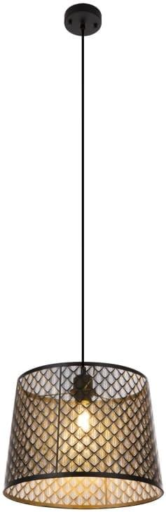 Pendul Globo Lighting Becca, 1xE27, negru