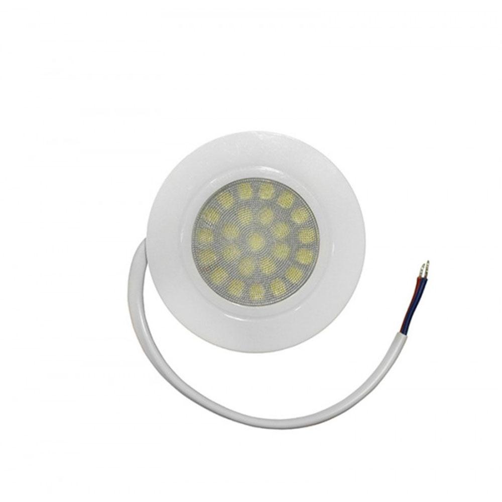 Spot LED pentru mobila incastrat Lumen, 4W, alb, rotund, IP40