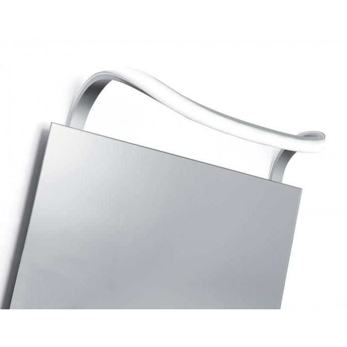 Aplica LED Mantra Sisley, 12W, argintiu-crom