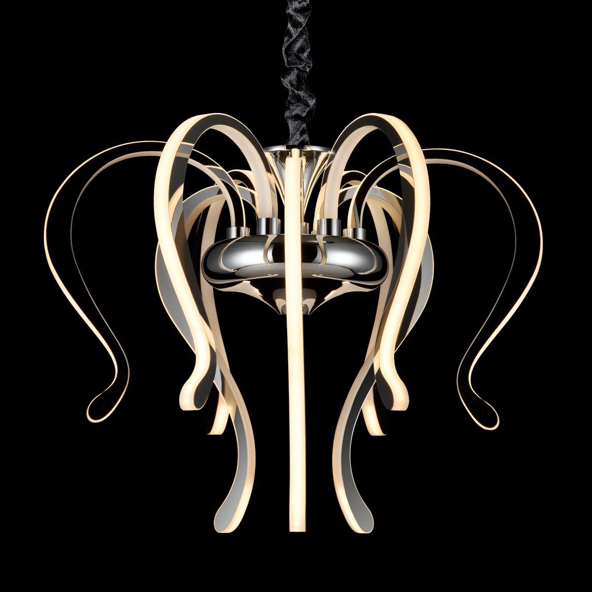 Candelabru LED Mantra Versailles, 106W, crom