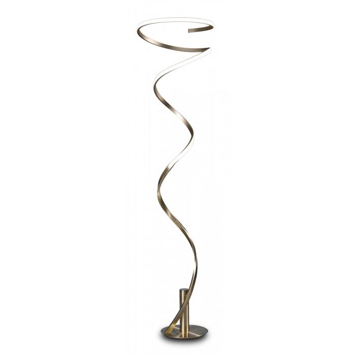 Lampadar LED Mantra Helix, 42W, argintiu-crom, dimabil