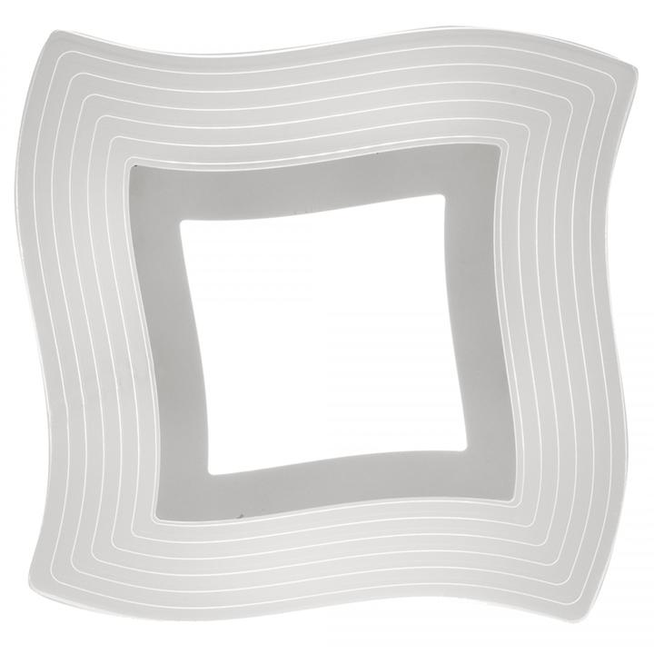 Aplica LED Mantra Mikonos, 18W, crom-transparent