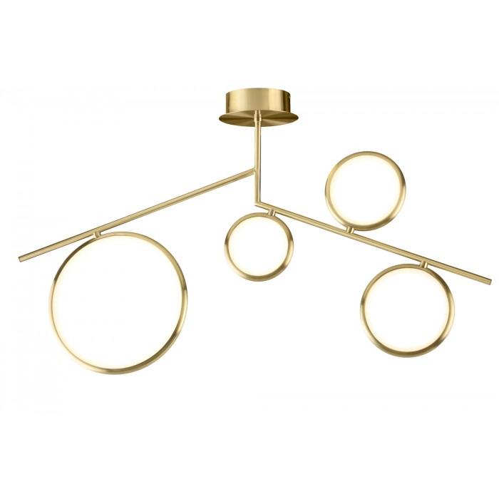 Plafoniera LED Mantra Olimpia, 42W, auriu satinat