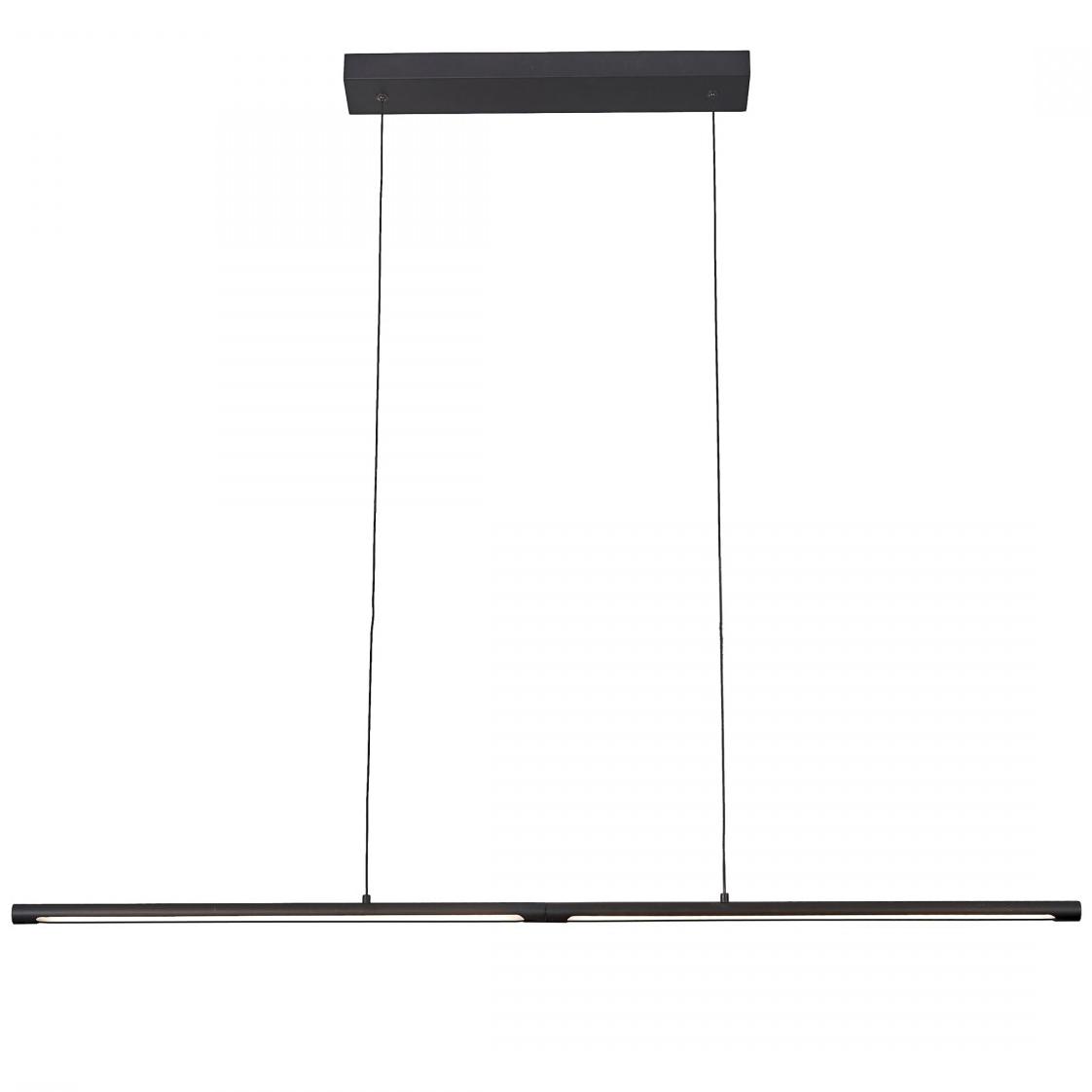 Pendul LED Mantra Torch, 22W, negru mat
