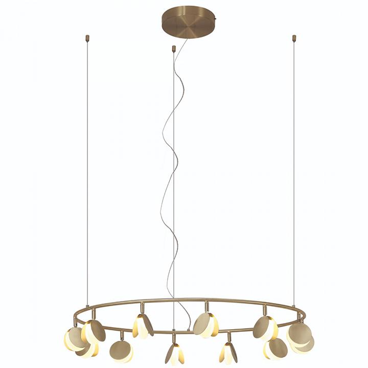 Pendul LED Mantra Shell, 50W, galben