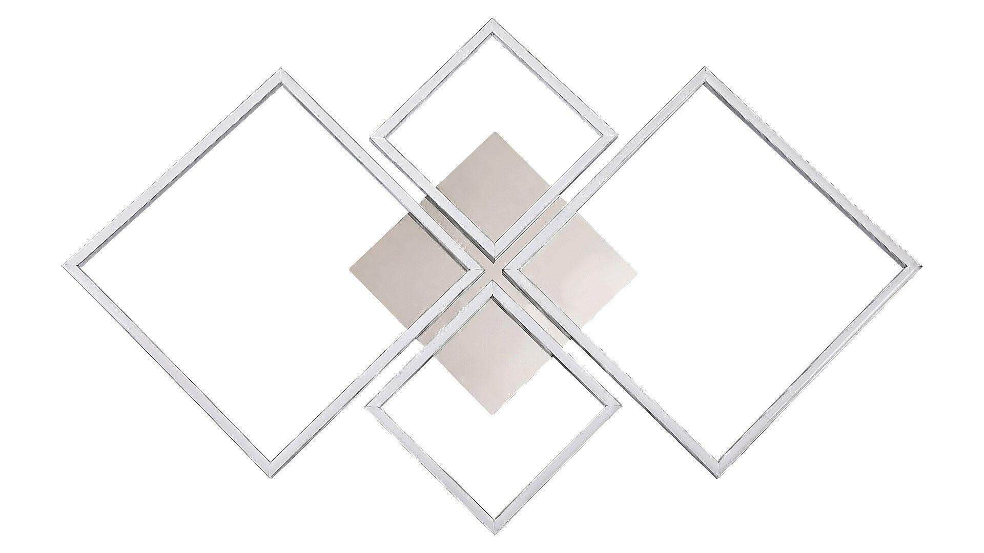 Plafoniera LED Rabalux Azra, 40W, crom, dimabil