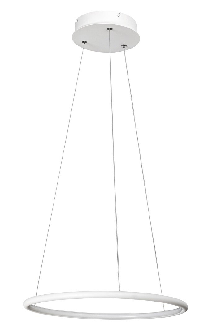 Pendul LED Rabalux Donatella, 21W, alb-crom