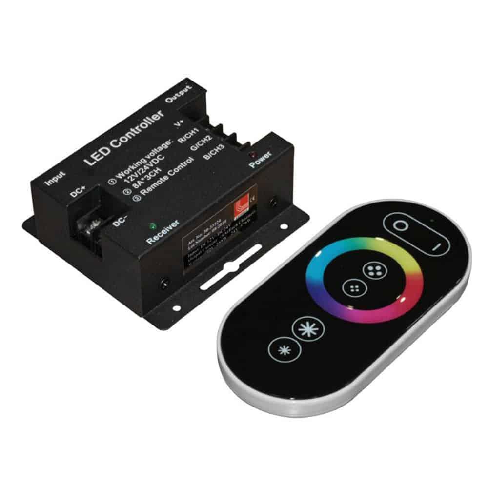 Dimmere pentru benzi cu LED RGB