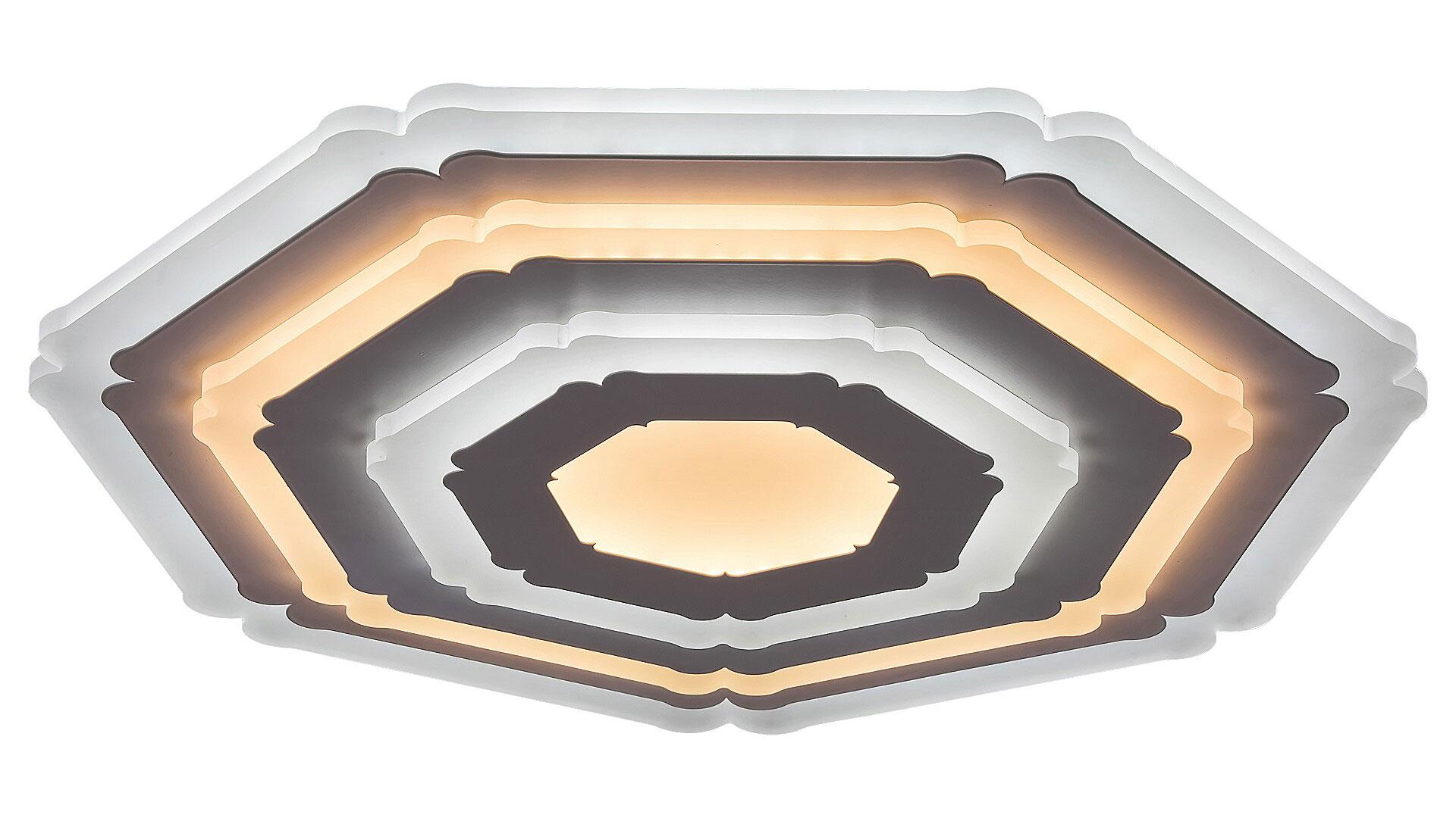 Plafoniera LED Rabalux Taneli, 41W, alb, dimabil, telecomanda