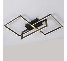 Plafoniera LED Mantra Mural, 48W, negru, dimabil