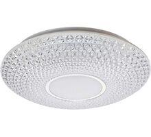 Plafoniera LED Rabalux Coralia, 48W, alb-crom-transparent, dimabil, telecomanda, temporizator