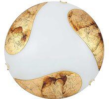Plafoniera Rabalux Art Gold, 2xE27, alb-auriu