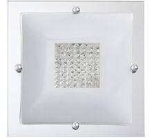 Plafoniera cristal Rabalux Deborah, 2xE27, alb-transparent