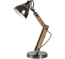 Lampa de birou Rabalux Aksel, 1xE14, alb-bej-negru