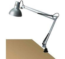 Lampa de birou Rabalux Arno, 1xE27, argintiu