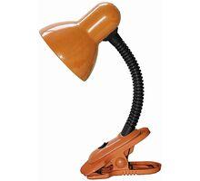 Lampa de birou Rabalux Dennis, 1xE27, negru-portocaliu