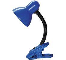 Lampa de birou Rabalux Dennis, 1xE27, albastru-negru