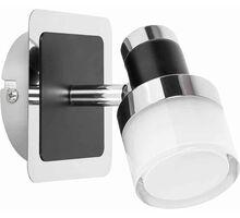 Aplica LED Rabalux Harold, 5W, crom-negru-opal