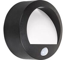 Aplica LED Rabalux Amarillo, 1.5W, alb-negru, senzor de miscare