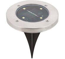 Stalp tip tarus LED Rabalux Dannet, crom satin-negru, solar