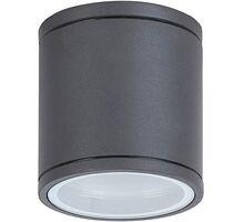 Spot fix aplicat Rabalux Akron, 1xGU10, antracit-transparent, rotund, IP54