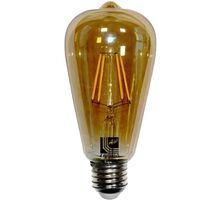 Bec LED Lumen E27, avocado, 6W, 2200K