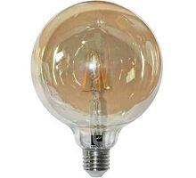 Bec LED Lumen E27, glob 125, 6W, dimabil, 2200K