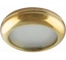 Spot fix incastrat AZzardo Biagio, 1xGU10, auriu, rotund, IP44