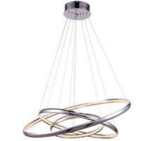 Pendul cristal LED AZzardo Brighton, 55W, crom