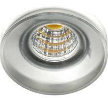 Spot fix LED incastrat AZzardo Oka, 3W, alb, rotund, IP20