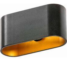 Aplica AZzardo Vega, 1G9, auriu-negru