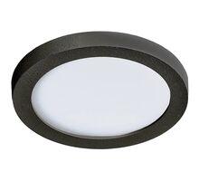 Plafoniera LED AZzardo Slim, 6W, negru