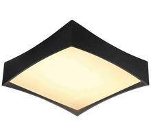 Plafoniera LED AZzardo Veccio, 43W, negru, dimabil