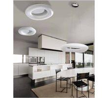 Plafoniera LED AZzardo Donut cct, 164W, alb, dimabil