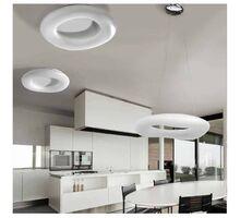 Plafoniera LED AZzardo Donut cct, 216W, alb, dimabil