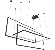 Pendul LED AZzardo Metric, 135W, negru, dimabil