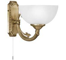 Aplica Eglo Savoy, 1xE14, alb-bronz