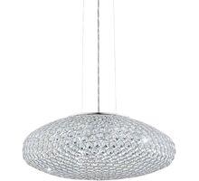 Pendul cristal Eglo Clemente, 3xE27, crom-transparent